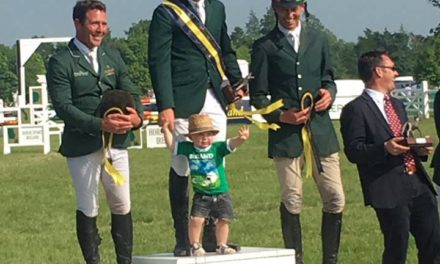 408 by Bit of Britain – Liz & Paul – Tattersalls CIC3* Winner McCarthy, Hopes for Rio